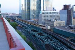 Long Island City Queens stock image