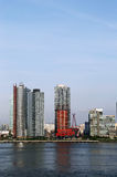 Long Island City (Queens) skyline Royalty Free Stock Photography