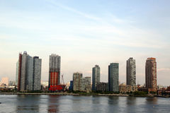 Long Island City (Queens) skyline Royalty Free Stock Photos