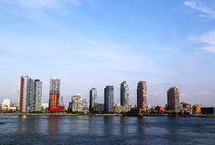 Long Island City (Queens) skyline panorama Royalty Free Stock Photography