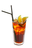 Long island ice tea cocktail Stock Image