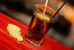 Long Island Ice Tea drink royalty free stock images