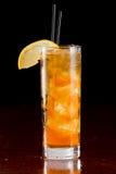 Long island iced tea stock image
