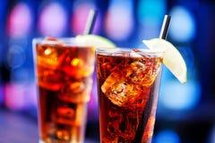 Long Island Iced Tea royalty free stock photos