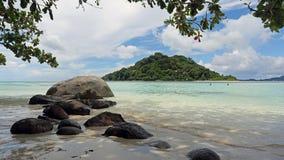Long island , Mahe island , Seychelles Stock Photo