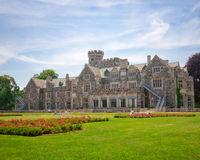 Long Island Mansion Stock Photo