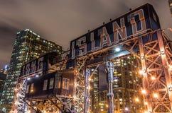 Long Island by night,New York Royalty Free Stock Photos