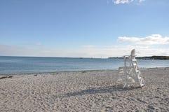 Long Island Sound. Connecticut Beaches Royalty Free Stock Photos