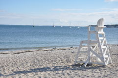 Long Island Sound. Connecticut Beaches Royalty Free Stock Image