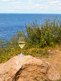 Long Island Wine Trail Stock Image