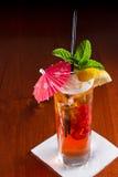 Long Islandet iced tea royaltyfri fotografi