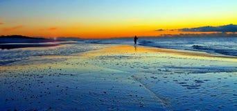 Long Islandsonnenuntergang lizenzfreies stockbild