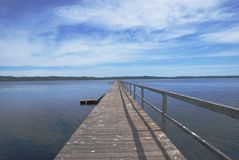 Long Jetty royalty free stock image