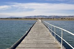 Long jetty Stock Photo
