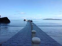 Long jetty Stock Photography