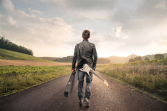 A long journey Royalty Free Stock Image