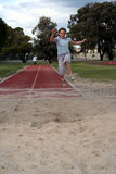 Long Jump Stock Photography