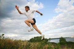 Long jump Royalty Free Stock Images