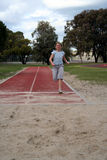 Long jump Stock Photos
