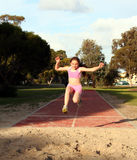 Long jump Stock Image