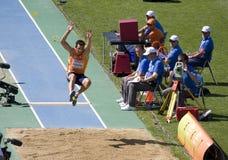 Long jump Royalty Free Stock Image