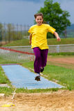Long jump Royalty Free Stock Photo