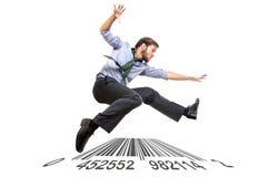 Long-Jump Royalty Free Stock Image