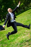 Long jump. Stock Image