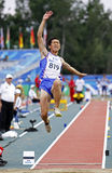 Long jump chinese taipei Stock Photo