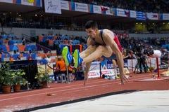 Long Jump Man LAZAR ANIC Stock Photo