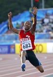 Long jump panama bowen Stock Images