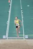 Long jump during The 6th Hong Kong Games Royalty Free Stock Photos