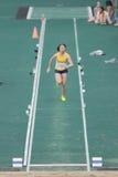 Long jump during The 6th Hong Kong Games Stock Images