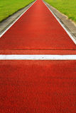 Long jump track Stock Image