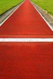 Long jump track Stock Image