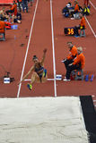 Long Jump Women-1 Stock Image