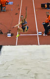 Long Jump Women-5 Stock Images