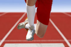 Long jumper Stock Photography