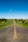 Long Kansas Road Stock Images