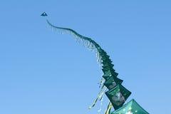 Long kites Stock Image