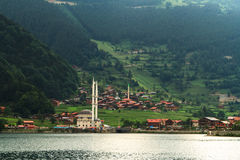 Long Lake In Trabzon Royalty Free Stock Photography