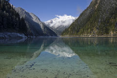 Long lake jiuzhaigou np sichuan Stock Images