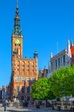 The Long Lane street in Gdansk Stock Image