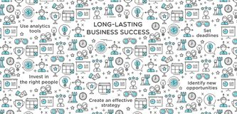 Long-Lasting Business Success Royalty Free Stock Images
