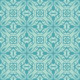 Long leave petals seamless pattern background in blue tone. Seamless  background pattern for use in fabrics , web backgrounds , art , styling , prints Royalty Free Stock Images