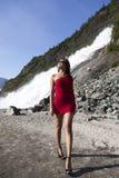 Long Leg Girl Royalty Free Stock Photography