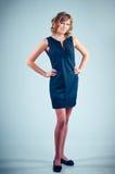 Long-legged model Stock Photography