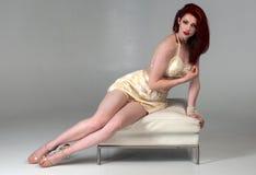Long legged redhead Stock Photos