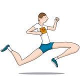 Long Legged Runner. An image of a long legged runner Stock Images