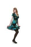 Long-legged woman Royalty Free Stock Image